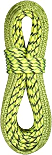 product image for BlueWater Ropes 9.7mm Lightning Pro Double Dry Dynamic Single Rope (Bi-Pattern Flavine, 60M)