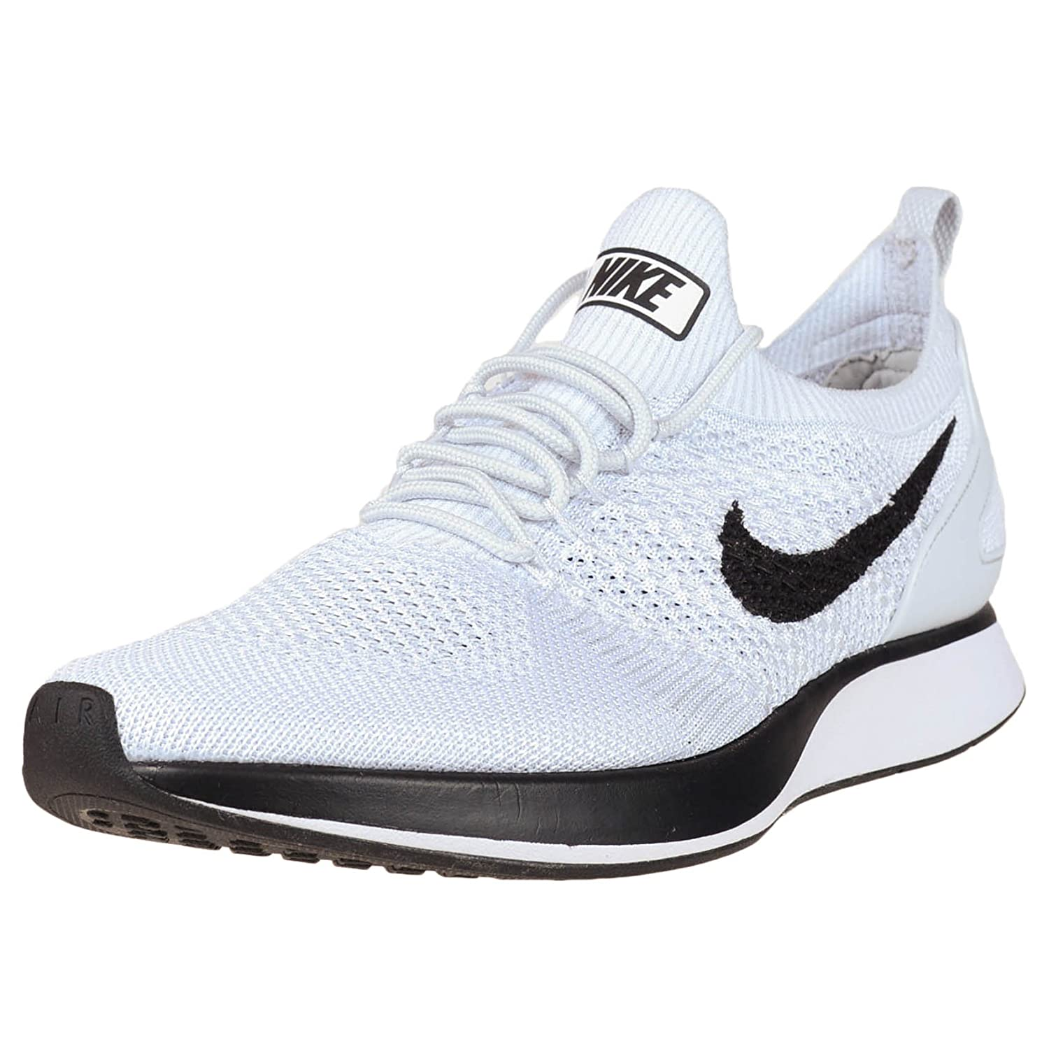 40729cbe7c7 Nike Men Air Zoom Mariah Flyknit Racer Pure Platinum White Size 11. 5 US   Buy Online at Low Prices in India - Amazon.in