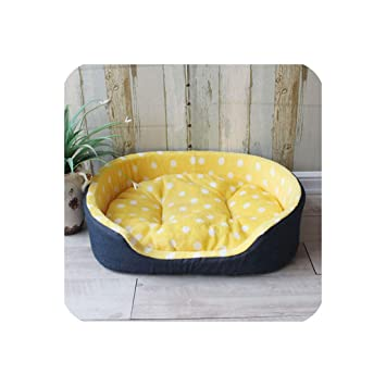 Amazon.com : Pet Kennel House Warm Large Dog Bed Cat Cushion ...
