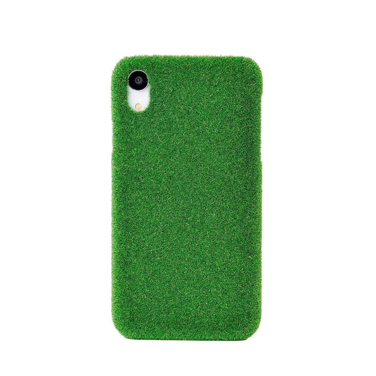 a3b56fcc2d18 Amazon.com  Shibaful Long-Lasting Real-Grass-Texture Green Turf Case for  Apple iPhone XR - Made in Japan  Yoyogi Park   Cell Phones   Accessories