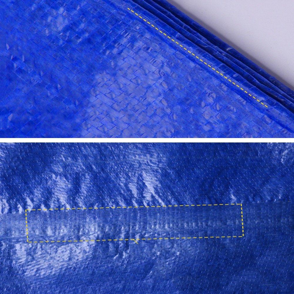 MDBLYJWinddichtes und Sonnenschutztuc Kaltes Tuch Sonnenschutztuc und Blaue gepolsterte Wasserdichte Plane, Sonnenschutz LKW-Plane, Staubtuch Markise 2d4f8b