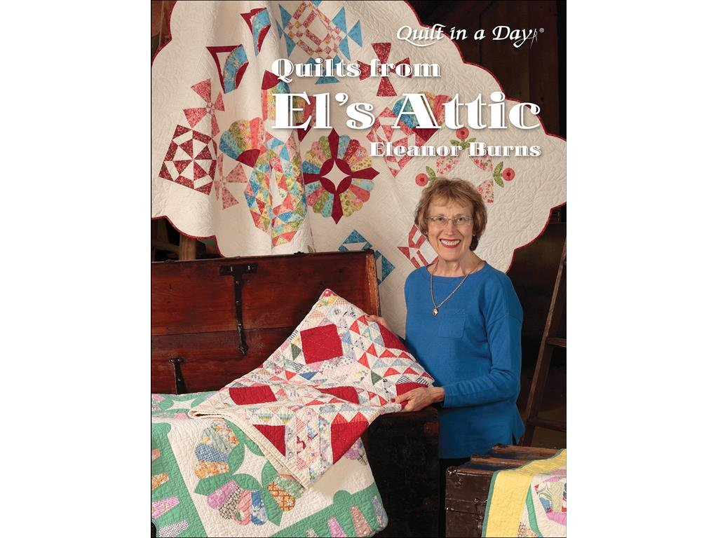 Quilt In A Day Dimensions QND1090 Quilts from El's Attic Black Eleanor Burns