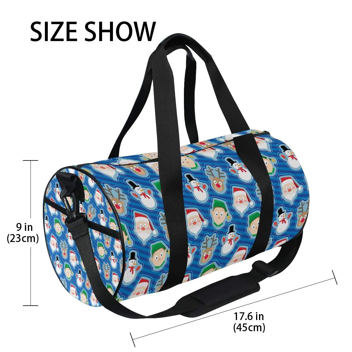 Pop Nightmare Before Christmas Popular casual fitness bag,Non-Slip Wearable Crossbody Bag Waterproof Shoulder Bag.