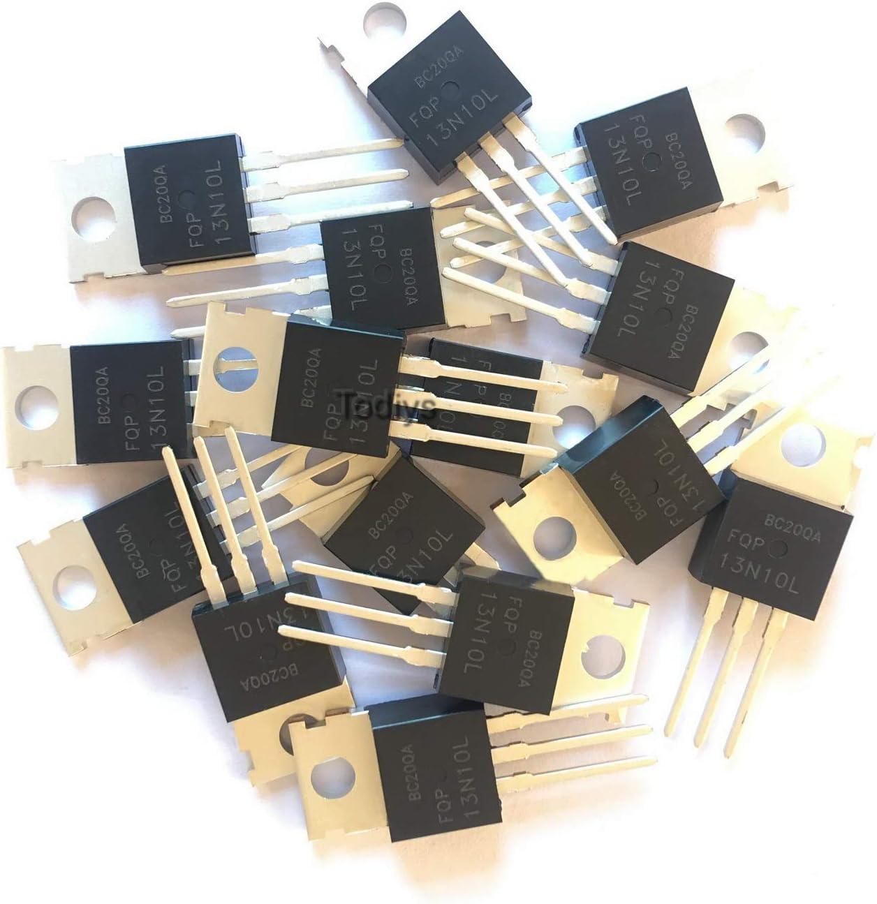 10PCS FQP13N10L 13N10 13N10L N-Channel MOSFET TO-220