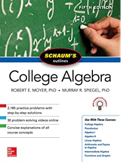 Schaums outline of college algebra 4th edition schaums outlines schaums outline of college algebra fifth edition fandeluxe Images