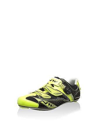 Northwave - Zapatillas de ciclismo para hombre Negro negro azul claro Talla:44: Amazon.es: Deportes y aire libre