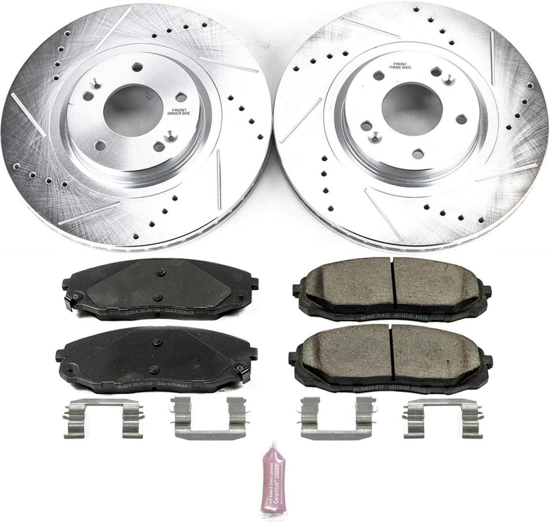 Power Stop K7295 Front Z23 Evolution/Sport Brake Upgrade Kit Z23 EvolutionSport Brake Upgrade Kit