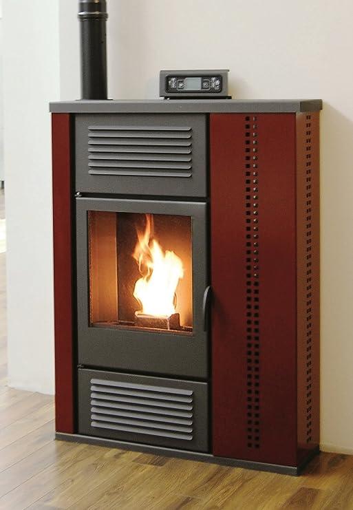 Pelletofen Palladium – Schottland 10 kW – Bordeaux: Amazon ...