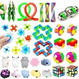33 Pack Sensory Toys Set, Stress Relief Fidget Toys Pack for Adults Kids, Party Toys, Birthday Party Favors, Pinata…