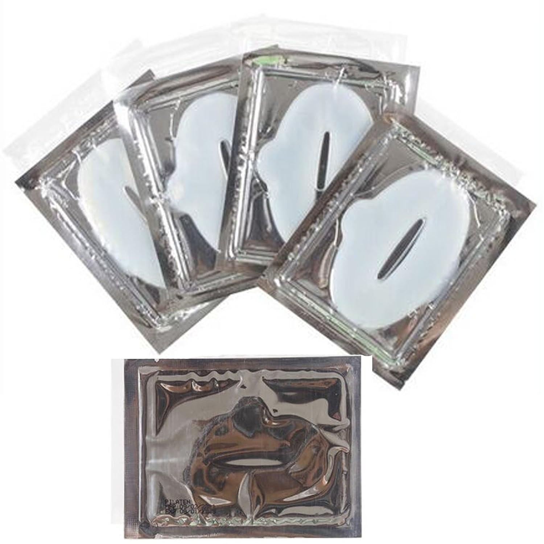 anmas rucci Crystal Gold Powder Gel Lip Mask Masks Sheet Patch (30pcs, White)