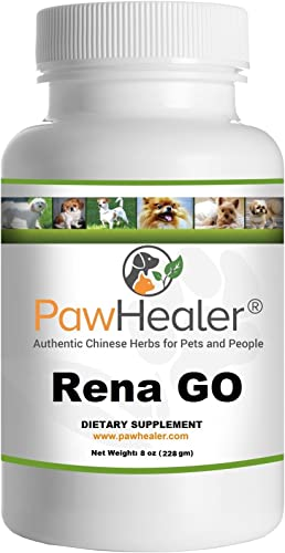 PawHealer Kidney Support – Rena G.O. – Glandular Organs – 8 oz 228 Grams Powder for Dogs Pets – Kidney Heart