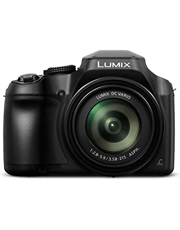 Panasonic Lumix Digital Camera (Bridge) with 4K Video and Built In Wifi (DC-FZ82EBK)