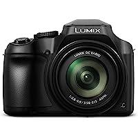 Panasonic Lumix Digital Camera (Bridge) with 4K Video and Built In Wifi (DC-FZ82EBK)
