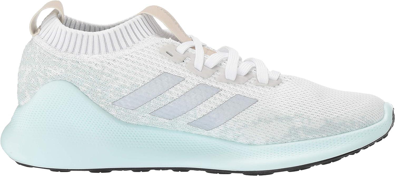 adidas Damen Purebounce+ Weiß Silber Metallic Ice Mint