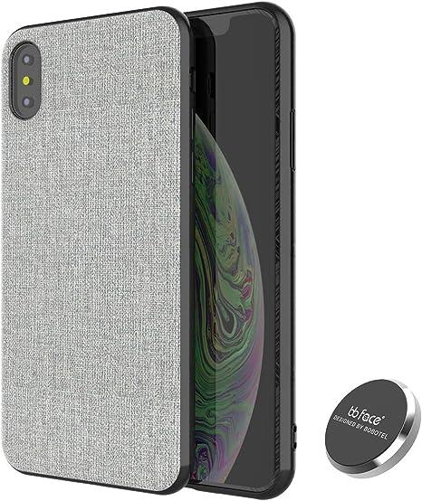 Haobuy Custodia iPhone XR Cover Magnetica per Supporto Magnetico