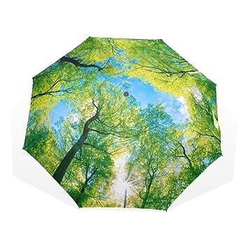 hmwr paraguas resistente al viento compacto 3d fútbol balón de ...