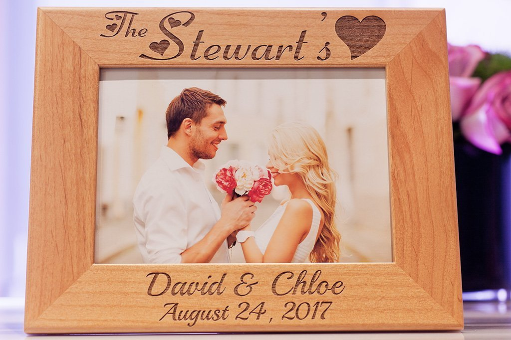 personalized picture frame Engagement picture frame wedding gift wedding picture frame picture frame custom picture frame