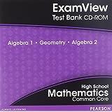 Amazon examview test bank algebra 1geometryalgebra 2 high school mathematics examview text bank common core algebra 1 geometry algebra 2 fandeluxe Gallery