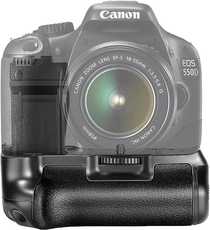 Neewer Pro Apretón de la Batería para Canon EOS 550D / 600D / 650D ...