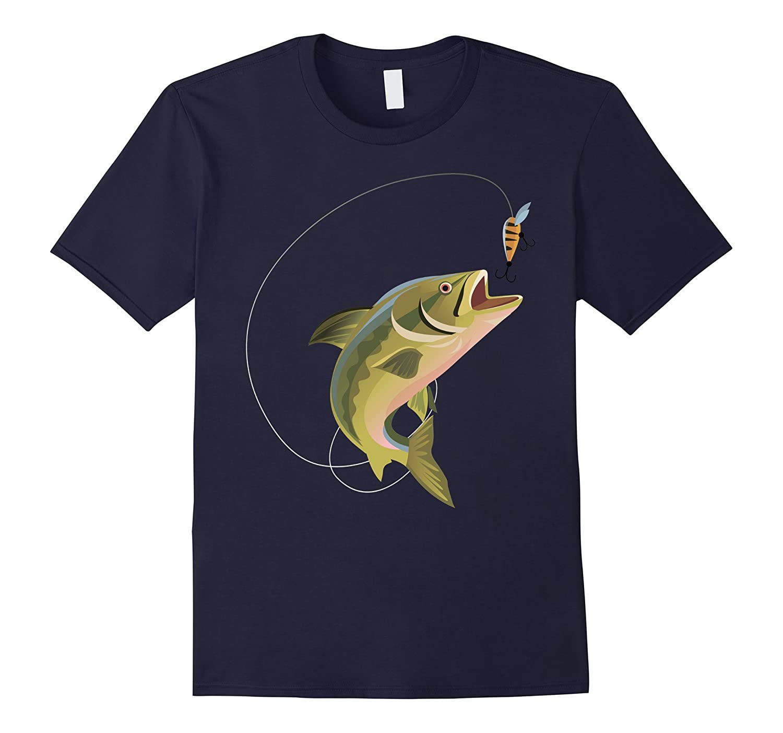 Fisherman Fishing T Shirt for men women boys girls kids-TD