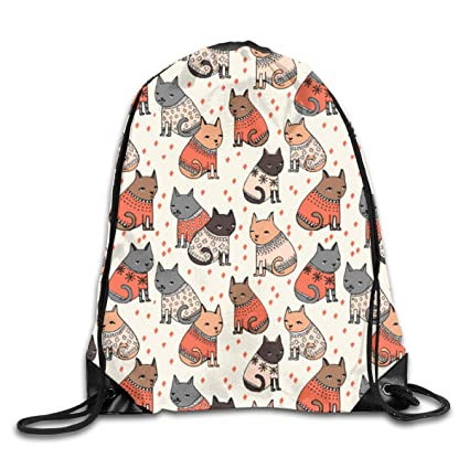 Christmas Drawstring Backpack Rucksack Shoulder Bags Training Gym Sack For Man And Women