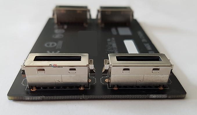 Nvidia SLI puente flexible para puente SLI Graphics Adapter | De alta calidad de PC24 Shop & Service: Amazon.es: Informática