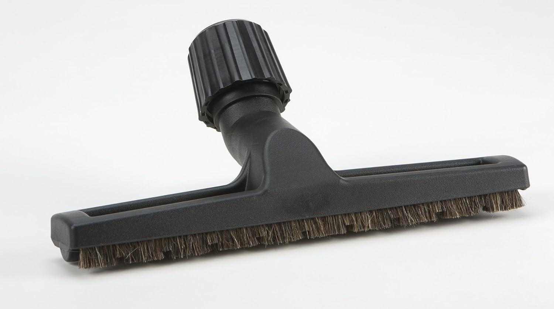 pisos parqu/é DREHFLEX/® Di/ámetro 30-37 mm Cerdas de pelo de caballo especiales Cepillo universal para pisos de parquet Cepillo para aspiradora