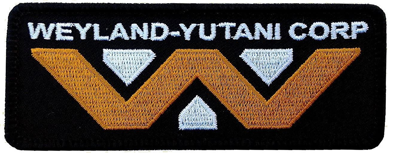 Alien The Movie Weyland-Yutani Corp 4 1/2 Inch Wide Patch