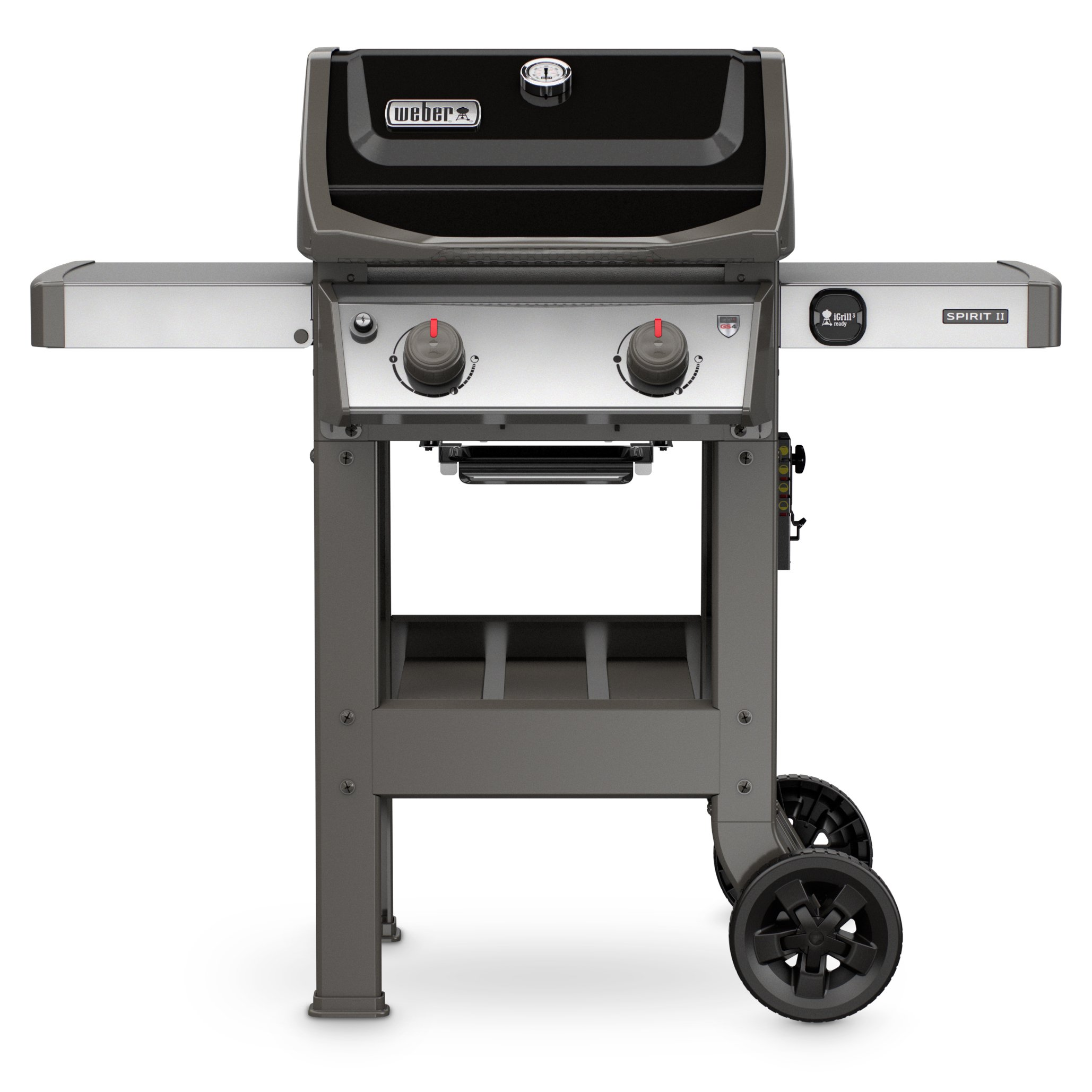 Weber 44010001 Spirit II E-210 2-Burner Liquid Propane Grill, Black by Weber