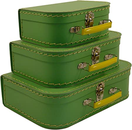 Vintage Travelers Mini Suitcases