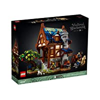 Lego Ideas Medieval Blacksmith Shop 21325