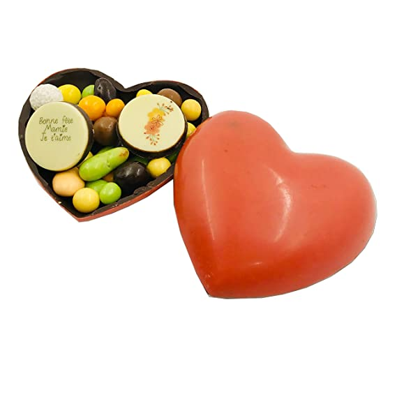 Coeur Tout Chocolat Bonne Fete Grand Mere Coffret Coeur
