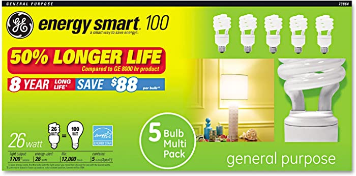 Top 9 Ge Compact Flourescent Bulbs