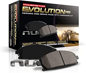 Power Stop 17-1692, Z17 Rear Ceramic Brake Pads with Hardware