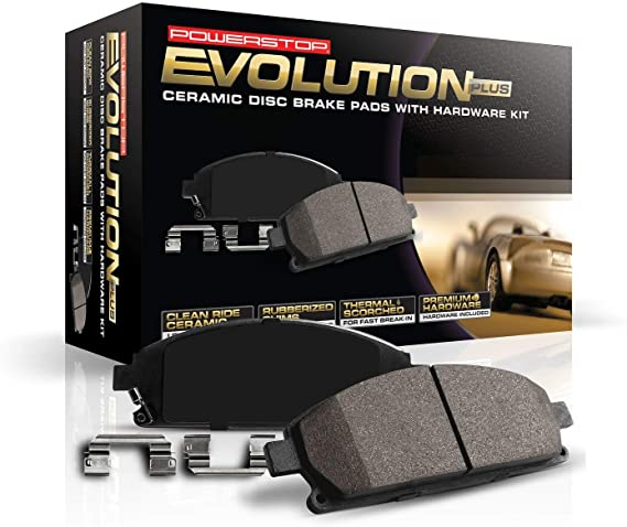 16-797 Powerstop 2-Wheel Set Brake Pad Sets Front New for Chevy Chevrolet Aveo