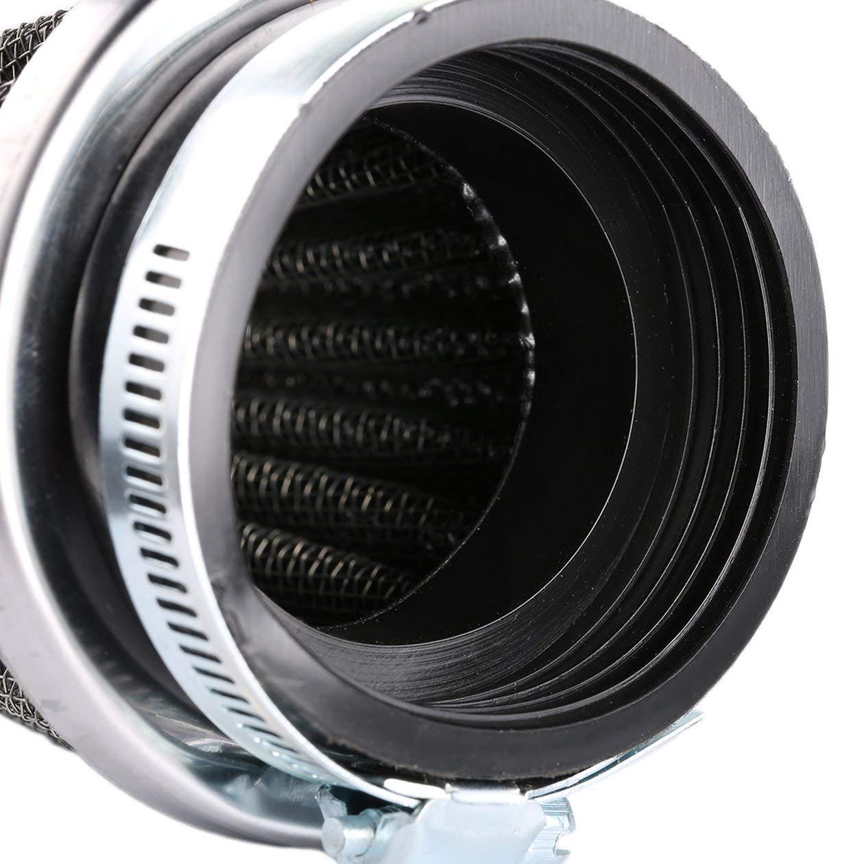Universale 35//39//42//44//48//50//52//54 60mm moto fungo testa filtro aria morsetto sul filtro dellaria pulitore per honda per yamaha