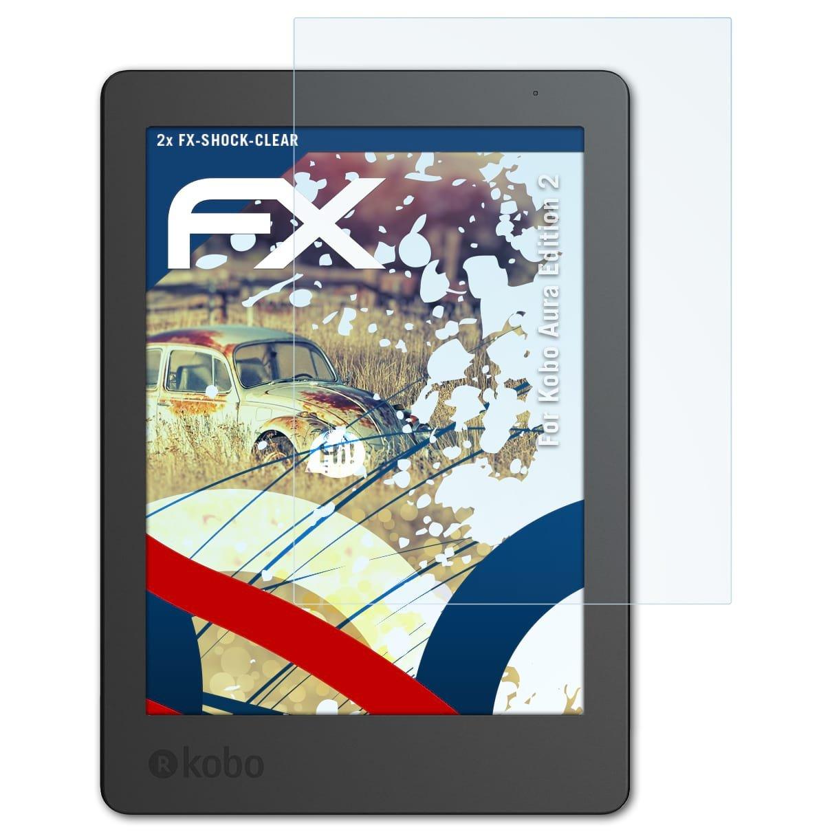 atFoliX Antichoque Película Protectora para Kobo Aura Edition 2 ...