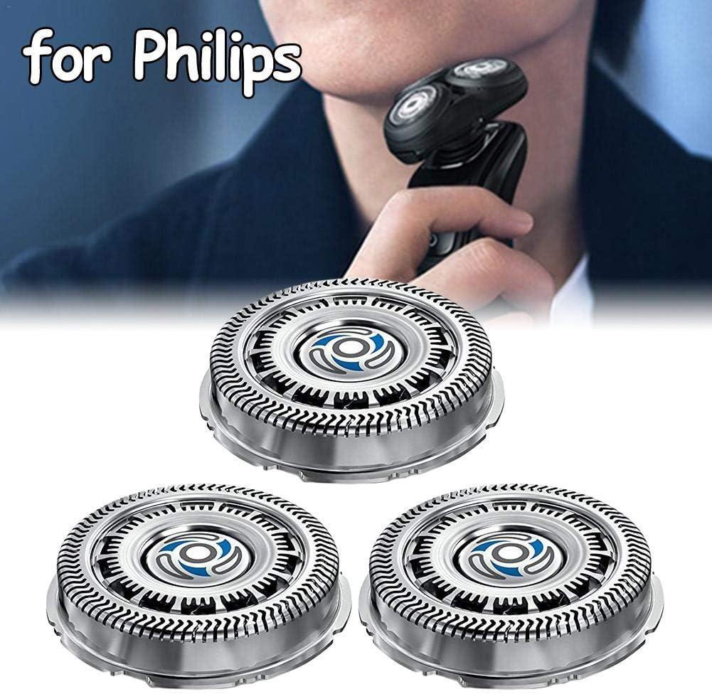 Ploufer Piezas de Repuesto de Cabezal de afeitadora eléctrica 3PCS para SH70 S7310 7370 7530 7720 7780 S7000 in Style: Amazon.es: Hogar