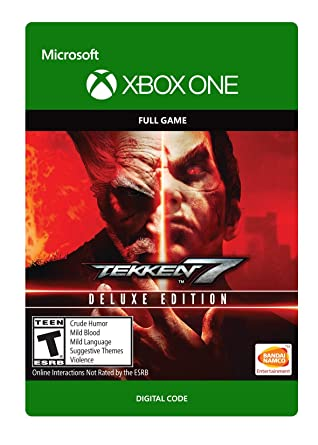 Amazon Com Tekken 7 Deluxe Edition Xbox One Digital Code Video Games