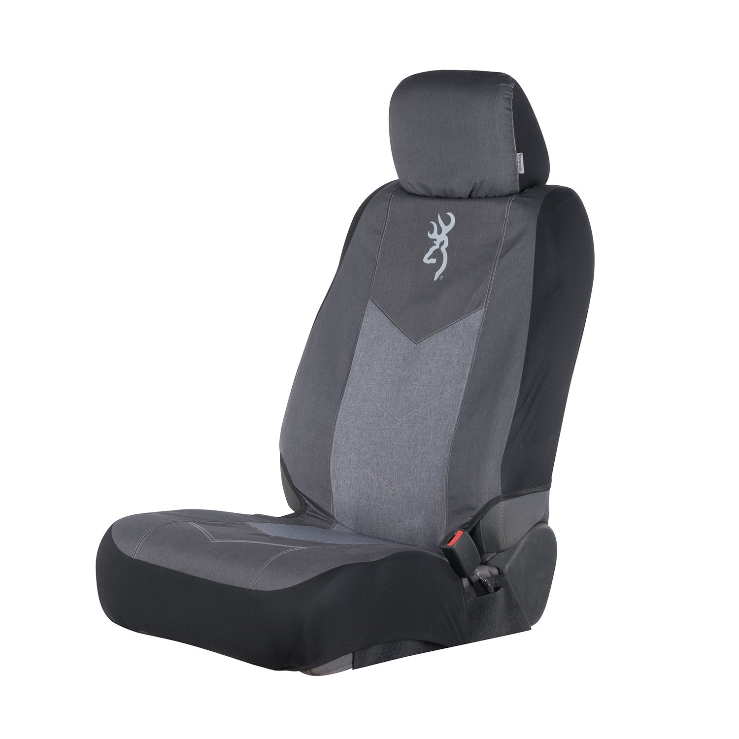 Browning Camo Seat Cover C000118800299 Low Back SPG Heather Black Heather Black Single Signature Products Group Single