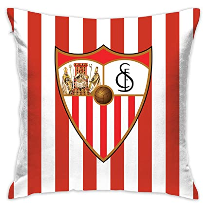 Amazon.com: LKGRU 18 X 18 Sevilla Fc Pillowcase,Square Cozy ...
