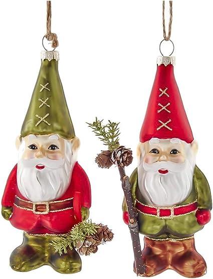 Set of 2 Glittering Betty Boop Christmas Tree Ornaments