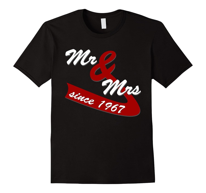 50th Wedding Anniversary Gift Ideas Couples T shirt-TH