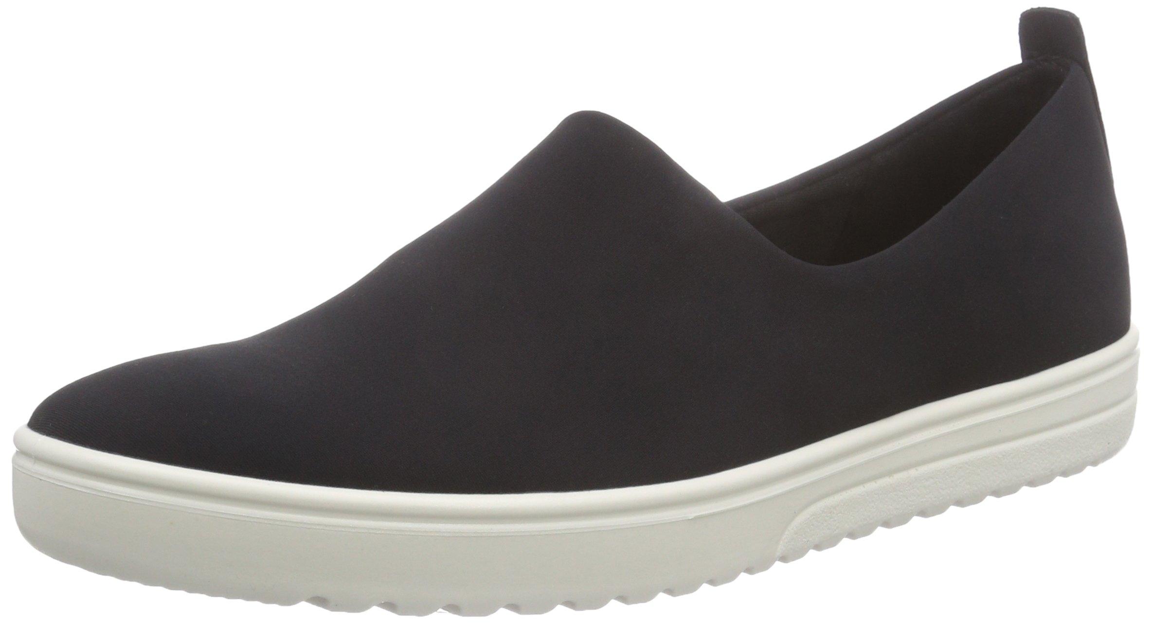 Ecco Footwear Womens Fara Slip-On Loafer, Black/Black, 35 EU/4-4.5 M US