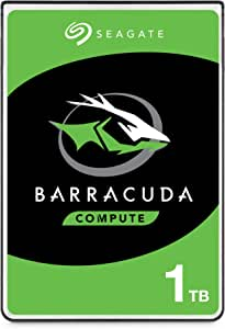 "Seagate Barracuda ST500LMZ30 - Disco Duro Interno (500 GB, SATA, 6 GB/s, 128 MB, caché de 2,5"", 7 mm), Barracuda 2.5-Inch, 1 TB"