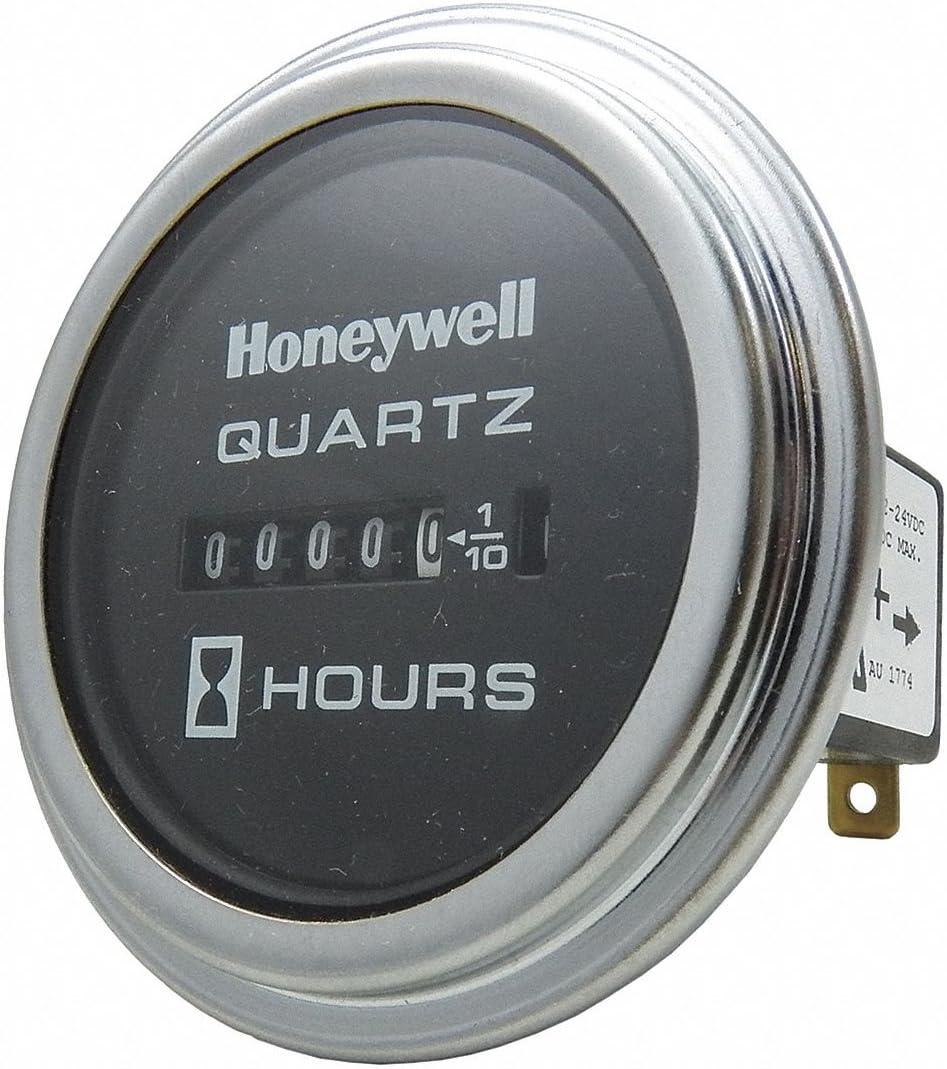 Round DC Quartz Hour Meter 2.86 in.