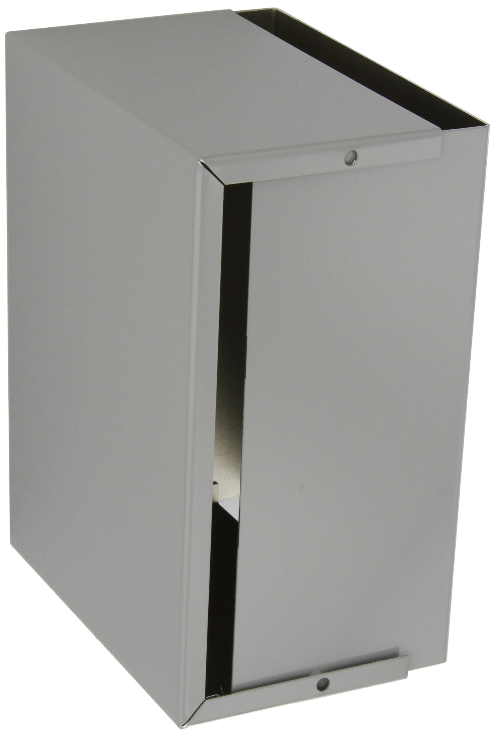 BUD Industries CU-2109-B Aluminum Electronics Minibox, 8'' Length x 6'' Width x 3-1/2'' Height, Smooth Gray Finish