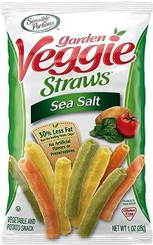 24-Pack Sensible Portions Sea Salt Garden Veggie Straws (1oz)