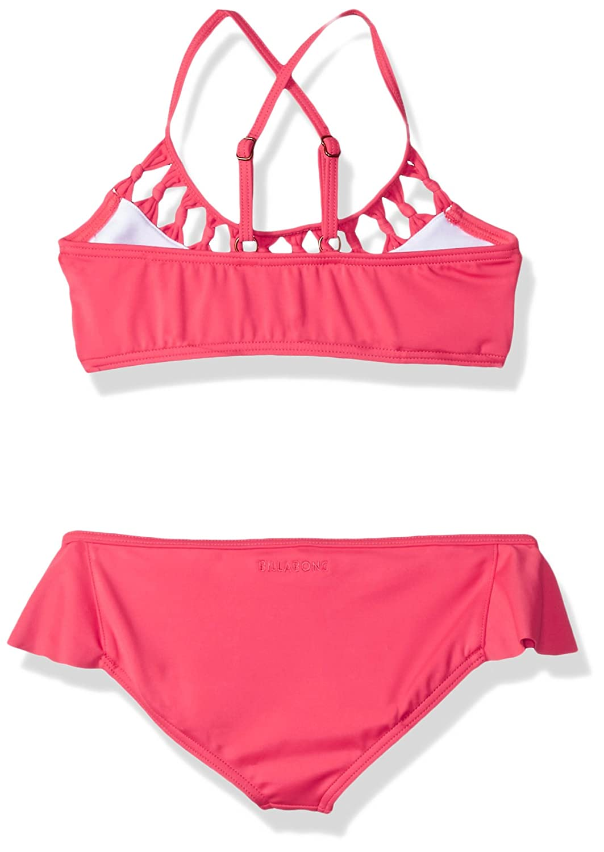 Billabong Girls Macrame Madness Two Piece Swimsuit Set