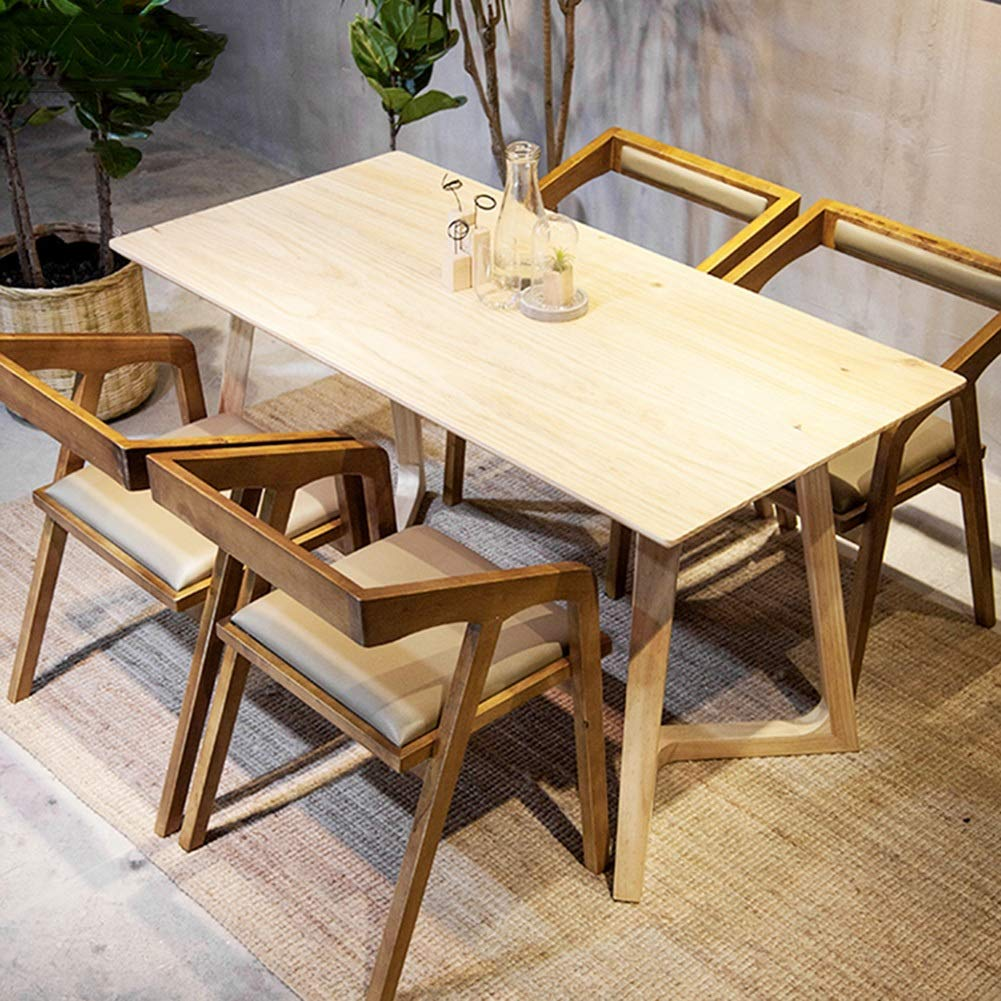 Amazon.com: Caijun Silla de madera maciza multiusos, estable ...